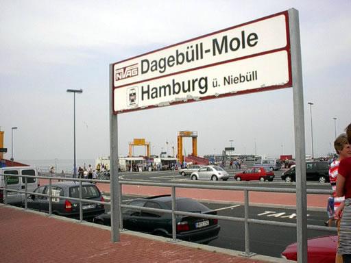 Neubau der neuen Dagebüller Hafenanlagen – 2002