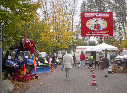 Fotos Gewerbemesse in Leck 2002