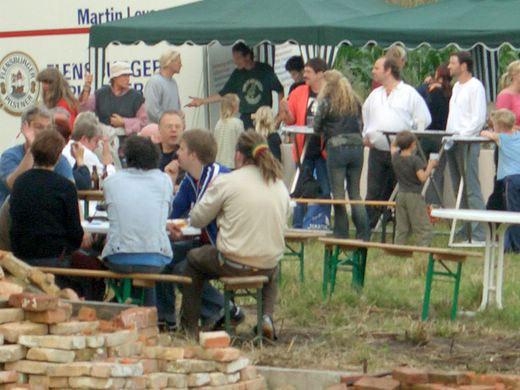 Sommerfest 2005 in Fresenhagen mit Ton Steine Scherben Family