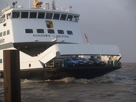 Sturm Nordseeküste Neujahr 2007
