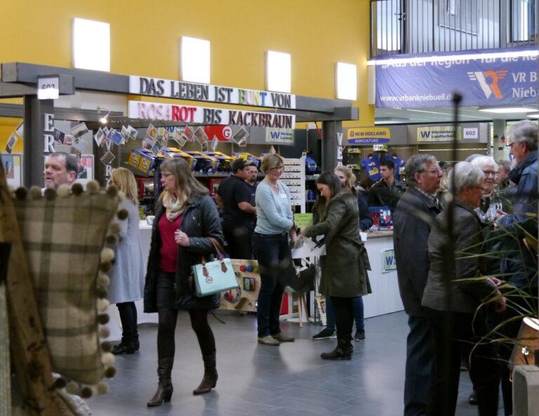 Fotos der regionalen Niebüll Messe 2016