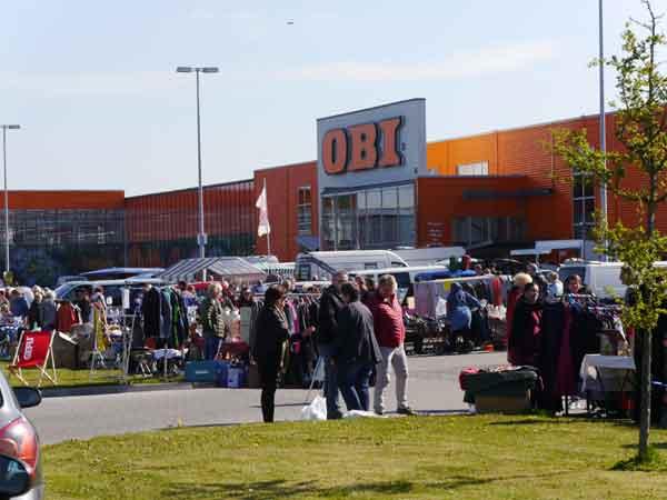 Riesenflohmarkt in Niebüll