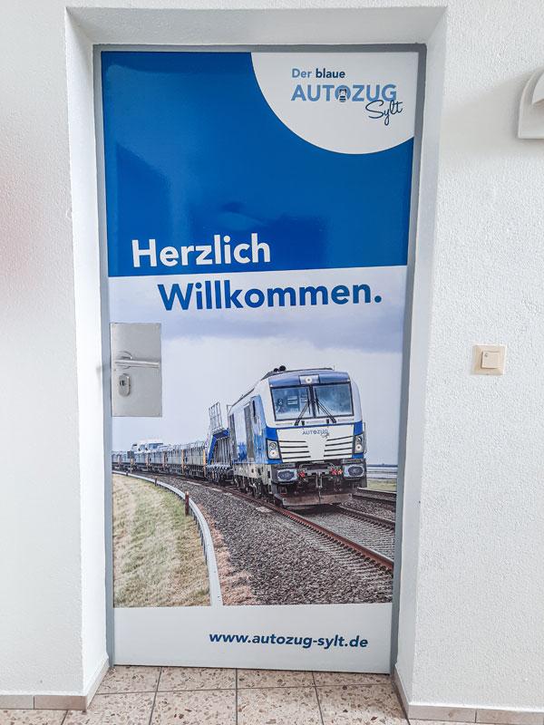 Der Blaue Autozug bekommt ein Kundencenter in Niebüll