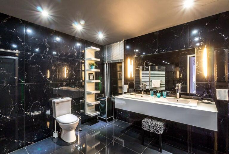 Schönes Wohnen im neuen Badezimmer