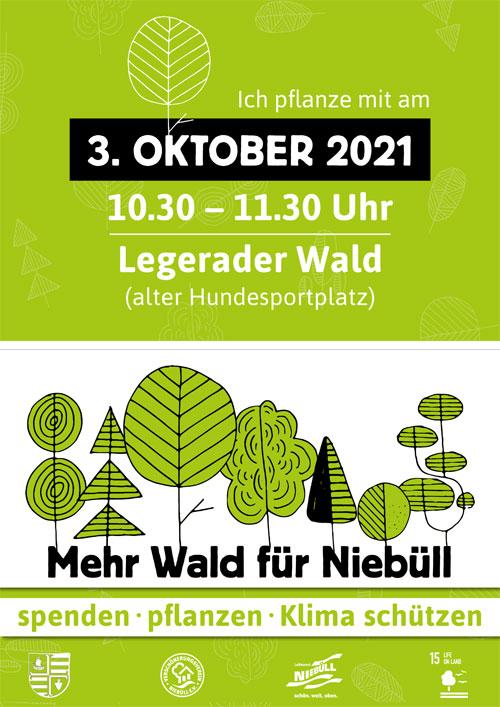 Baumpflanzaktion in Niebüll