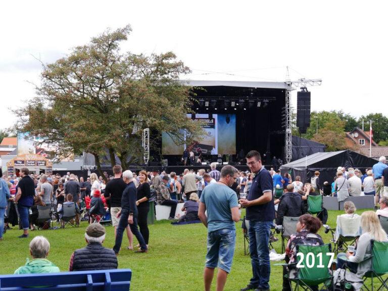 Die ersten Namen für das Tønder Festival 2022 sind auf dem Plakat